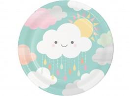 chuva de amor pratos 22cm