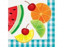 frutas guardanapos grd 16unid
