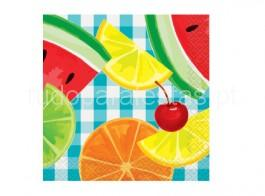 frutas guardanapos peq 16unid