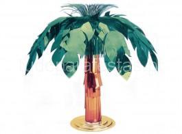 tropical centro mesa palmeira