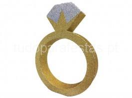 despedida de solteira anel decorativo