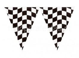 cars bandeira triangular quadrados