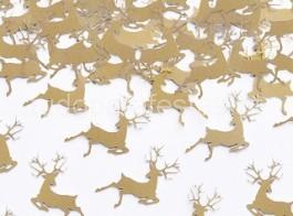 natal confetti renas