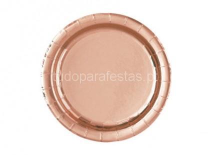 rose gold prato17cm
