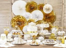 rosetas dourado foil 2