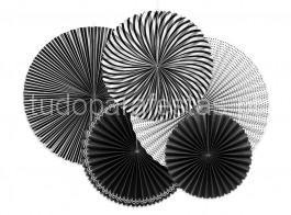 rosetas preto e branco