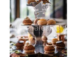 stand cupcakes prateado2
