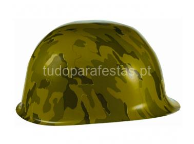 camuflagem capacete