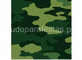 camuflagem guardanapo