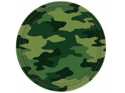 camuflagem prato