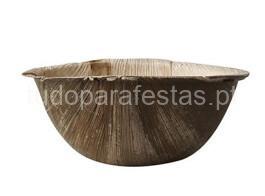 tropical taça madeira 15x6.5cm