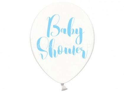 balao latex baby shower azul
