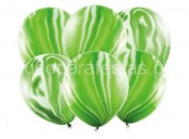balao latex marmore verde