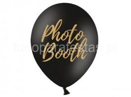 balao latex photo booth preto
