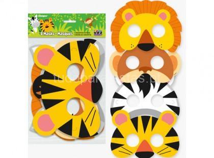 selva mascaras