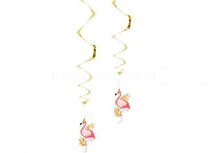 flamingo swirl