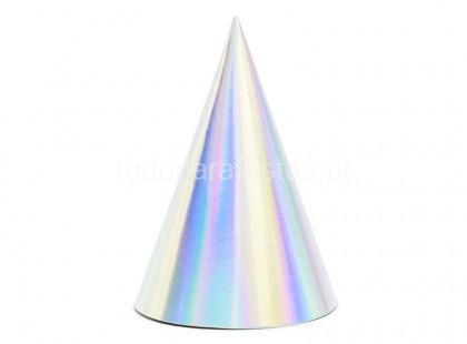iridescente chapeu