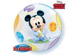 mickey bebe bubble