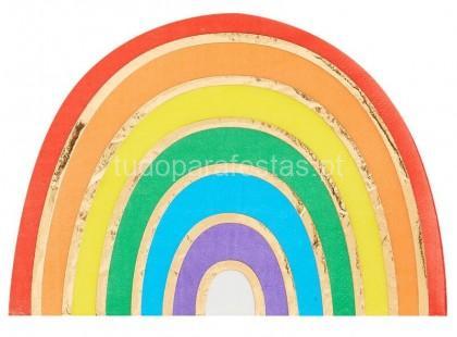 arco iris guardanapos 2