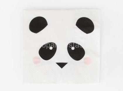 panda guardanapo 25cm