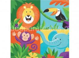 selva safari guardanapos