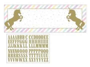 unicornio ouro poster
