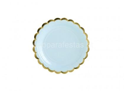 yummy prato azul