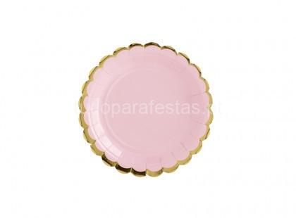 yummy prato rosa