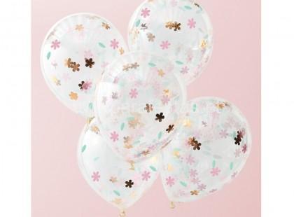balao confetti floral
