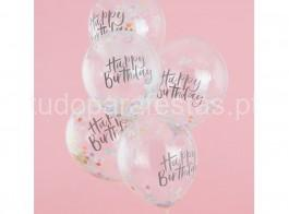balao confetti pastel happy birthday