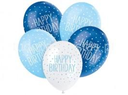 balao latex happy birthday azuis