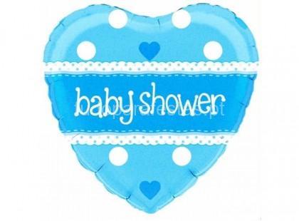 bebe balao baby shower azul