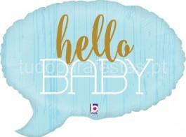 bebe balao hello baby azul