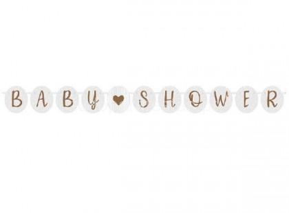 bebe faixa baby shower rose gold