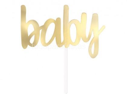 bebe topper baby dourado 2