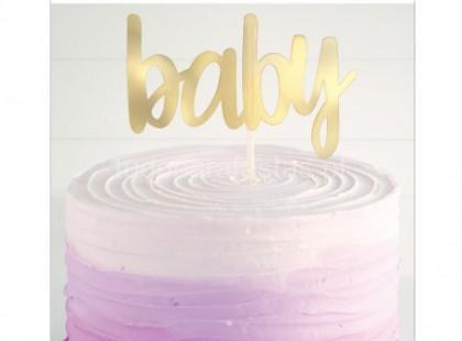 bebe topper baby dourado
