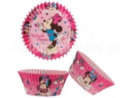 minnie capsulas cupcakes