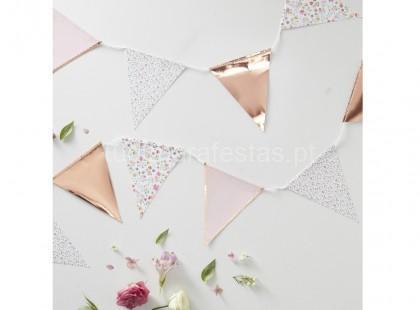 rose gold faixa triangular