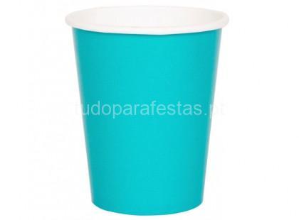 azul tiffany copo