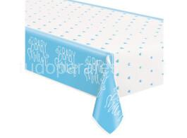 bebe toalha baby showe azul