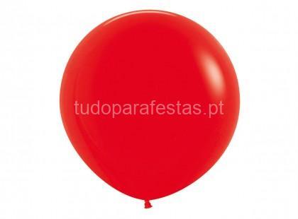 vermelho balao latex 40cm