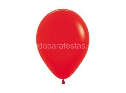 vermelho balao latex 5'