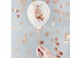 rose gold topper balao