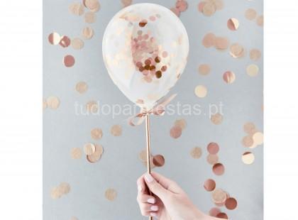 rose gold topper balao