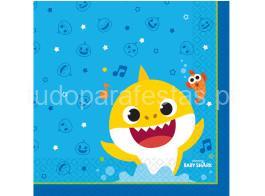 baby shark guardanapo
