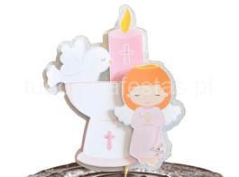 batizado menina calice