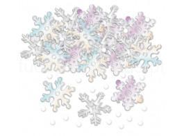 frozen confettis flocos neve
