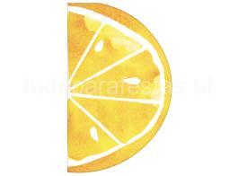 frutas guardanapos limao