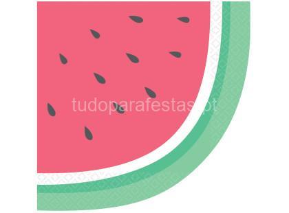 frutas guardnapos melancia
