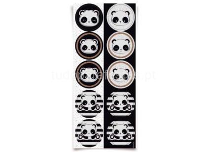 panda autocolantes